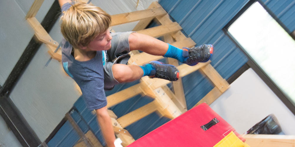 Conquering Obstacles with Parkour