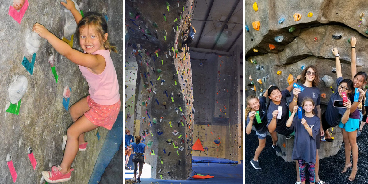 Indoor Rockwall Climbing